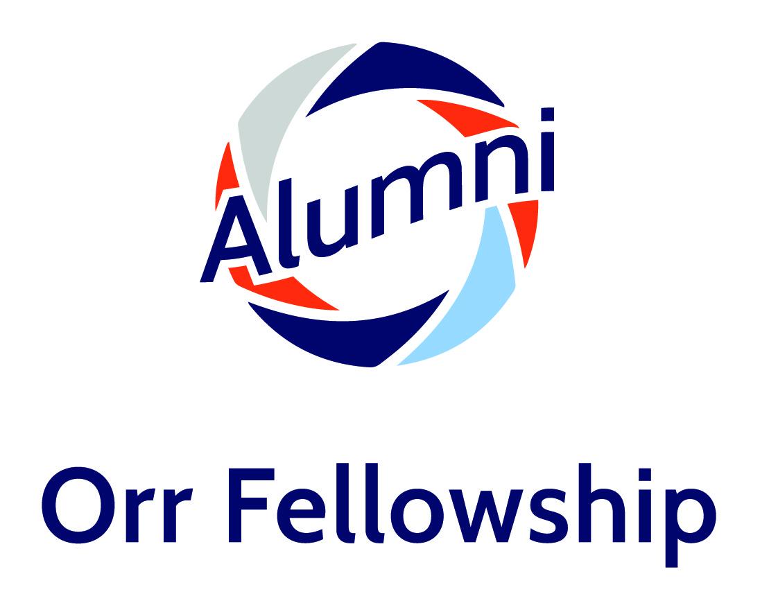 Orr Fellowship Alumni Logo - Vertical Color